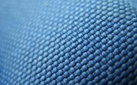Обои синий, текстура, ткань, плетение