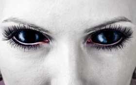 Картинка незнакомец, страшно, creepy, черные глаза, scary, жутко, black eyes