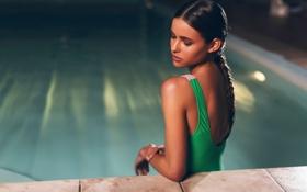Картинка Bikini, Body, Water, Color, Pool, Bokeh, Fashion