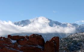 Обои небо, горы, фото, обои, пейзажи
