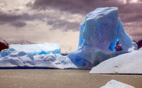 Картинка природа, ледник, айсберг