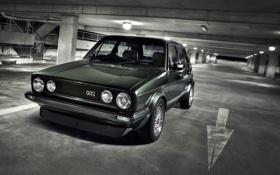 Картинка стоянка, wallpapers auto, auto, cars, Volkswagen, Classic, парковка