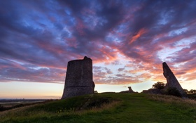 Обои Великобритания, Great Britain, Essex, графство Эссекс, Hadleigh Castle, Замок Хадли