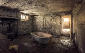 Обои фон, комната, ванна