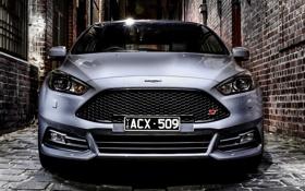 Обои Ford, фокус, Focus, форд, AU-spec, 2015