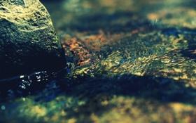 Обои zen, вода, камень