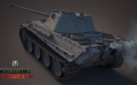 Картинка tank, Panther, танк, танки, World of Tanks, Wargaming.Net, Германия