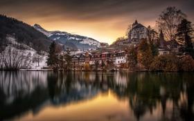 Обои Швейцария, Werdenberg Castle, Верденберг