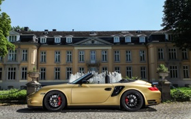Картинка Turbo, Porsche, 911, кабриолет, порше, турбо, Cabriolet