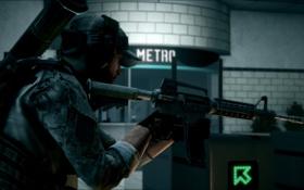 Картинка метро, Battlefield, инженер