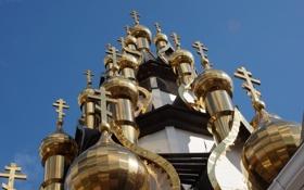 Картинка религия, купола, Церквь Спаса Преображения