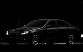 Картинка чёрный, Mercedes, GT5