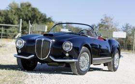 Обои классика, 1954, передок, Lancia, Convertible, Лянча, Aurelia