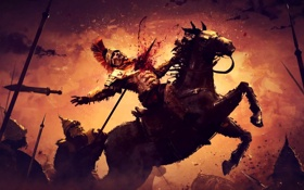 Картинка Artwork, Soldiers, Fight, Ryse: Son of Rome, Roman Horsemen, The Legend of Damocles