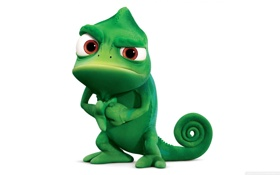 Обои Tangled, Pascal, Chameleon