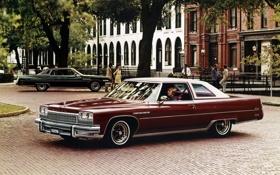 Обои фон, Бьюик, Coupe, 1975, Sedan, Hardtop, Buick