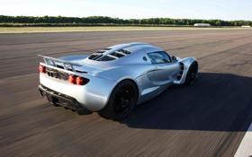 Обои машина, supercar, speed, задок, Hennessey, Venom GT