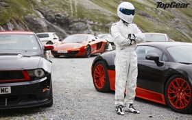 Картинка McLaren, Jaguar, Mustang, Volkswagen, Bugatti, Boss 302, Veyron