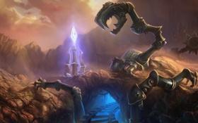 Обои робот, dominion, League of Legends