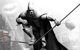 Картинка бэтмен, супергерой, Batman Arkham City