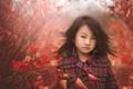 Картинка природа, осень, девочка