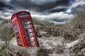 Картинка природа, дюны, телефон