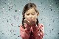 Картинка настроение, девочка, confetti
