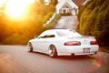 Картинка тюнинг, купе, лексус, солнечный свет, lexus sc 400