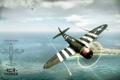 Картинка США, самолёт, истребитель-бомбардировщик, P-47D Thunderbolt, Америка, MMO, Dagor Engine
