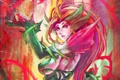 Картинка Rise of the Thorns, lol, League of Legends, девушка, Zyra