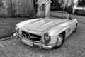 Картинка Roadster, классика, 1957 Mercedes-Benz 300 SL