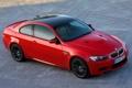 Картинка Красный, BMW, БМВ, Капот, Брусчатка, Корпус, Седан