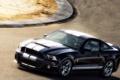 Картинка дорога, машина, Mustang GT 500