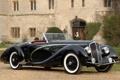Картинка черная, кабриолет, 1938, Delahaye 135 Ms Cabriolet By Figoni & Falaschi