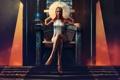 Картинка кристалл, девушка, украшения, магия, узоры, арт, ступени
