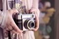 Картинка кольца, камера, руки, фотоаппарат, объектив