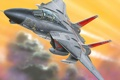 Картинка ф-14, истребитель, tomcat