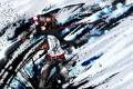 Картинка оружие, краски, парень, мечи, art, DropVery