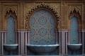 Картинка Casablanca, фонтан, узор, арки, резьба, Марокко, архитектура
