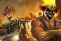 Картинка металл, игра, Sony, kane, racing, fighting, action