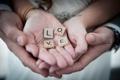 Картинка любовь, буквы, руки