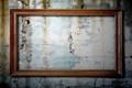 Картинка wall, wood, strange, empty frame