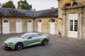 Картинка Фисташковый, Автомобиль, Vanquish, Брусчатка, AM310, Aston Martin, Здание