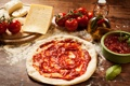 Картинка масло, сыр, помидоры, соус, тесто
