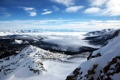 Картинка небо, снег, пейзаж, горы, природа