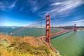 Картинка мост, город, пролив, обои, Сан-Франциско, Золотые Ворота, San Francisco