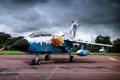 Картинка истребитель, German, бомбардировщик, аэродром, Panavia Tornado