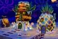 Картинка дома, губка боб, squarepants, spongebob, украшенные