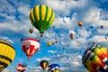Картинка облака, небо, шары