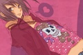 Картинка настроение, розовый, аниме